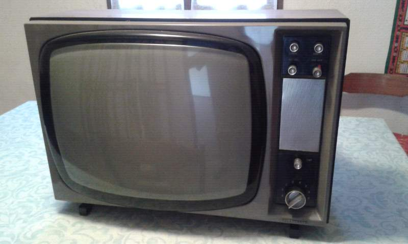 televisore anni 70