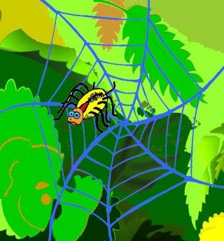 un ragno goloso i gufi narranti