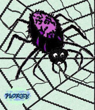 certo è più carina da vedere a dire il vero Che quel otto zampe e pelosetto ragno nero Che tesse la sua tela non curandosi di loro Ma attento e concentrato per finire il suo lavoro