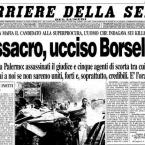 Paolo Borsellino,via D'Amelio. Cosa nostra o servizi segreti?  (2/2)