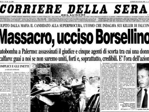 Paolo Borsellino. La strage di via D'Amelio. Cosa Nostra Servizi segreti e depistaggi.  (2/3)