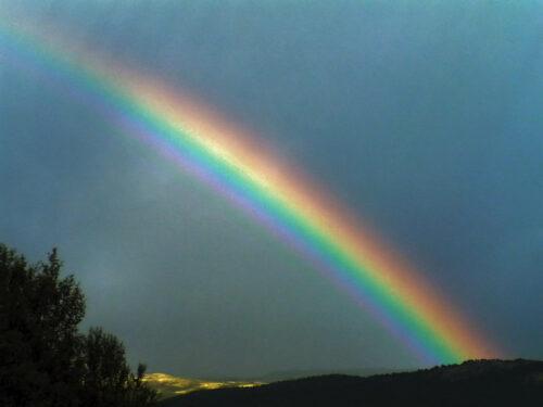 Filastrocca Impariamo i colori dell'arcobaleno