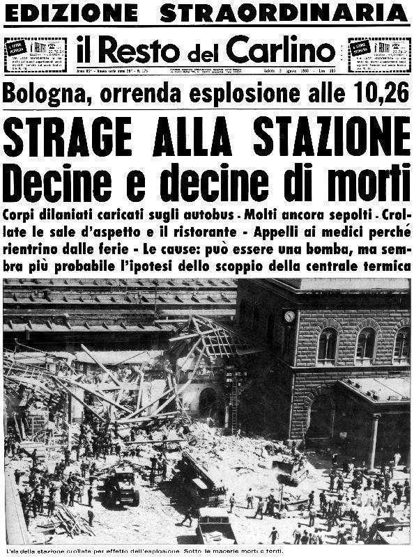 2 agosto 1980 la strage della stazione di bologna - Pinelli una finestra sulla strage ...