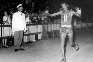 Olimpiadi di Roma 1960 Abebe Bikila