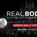 REAL BODIES – scopri il corpo umano fino al 29 gennaio 2017 Milano