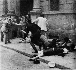 17 maggio 1973. attentato via Fatebenefratelli