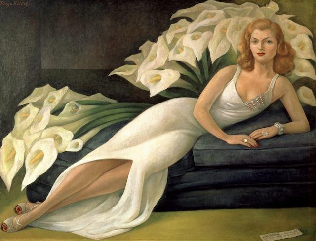 Diego Rivera - Ritratto di Natasha Gelman
