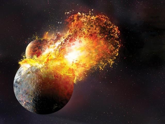Lo scontro tra la Terra e Theia