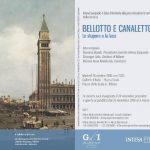 Mostra a Milano  BELLOTTO E CANALETTO dal 25/10 al 5/3/17