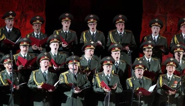 Il coro dell'Armata rossa