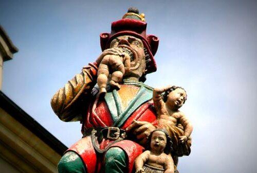 Berna e la fontana del Mangiatore di bambini