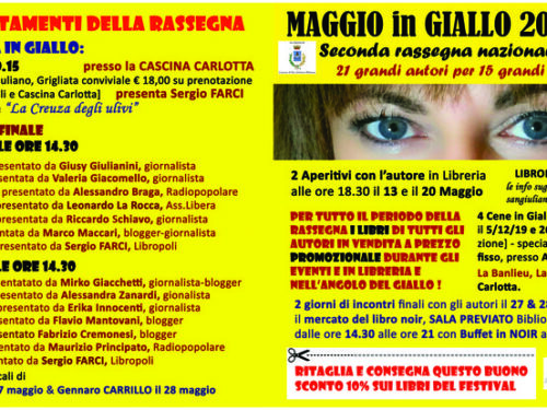 Maggio in giallo a San Giuliano Milanese