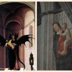S. Pietro Martire debella con l'Ostia il demonio – Vincenzo Foppa