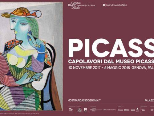 Picasso capolavori dal museo di Parigi a Genova fino al 6 maggio 2018