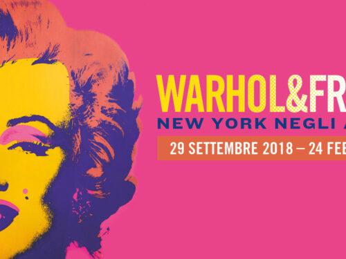 Warhol & Friends  New York negli anni '80.  Dal 29-9-2018 al 24 -2- 2019