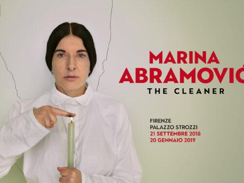 MOSTRA: Marina Abramović. The Cleaner fino al 20 gennaio 2019