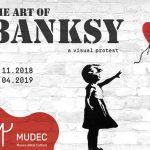 Mostra: The Art of BANKSY. A VISUAL PROTEST fino al 14 aprile '19