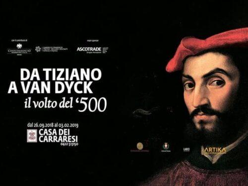MOstra  Da Tiziano a Van Dyck : il volto del 500 fino al 3 feb 2019