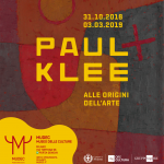 Paul Klee all'origine dell'arte –  Mostra fino al 03 marzo 2019