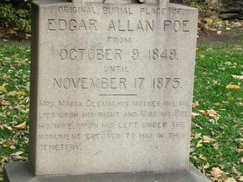 Edgar Allan Poe e la sua morte avvolta nel mistero