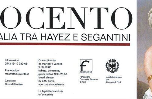 MOSTRA: OTTOCENTO L'arte dell'Italia tra Hayez e Segantini