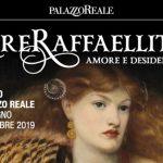 Preraffaelliti. Amore e desiderio 06.10.2019 al Palazzo Reale a Milano