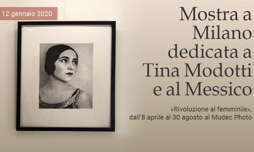 Tina Modotti e il Messico. Rivoluzione al femminile Fino al 30 agosto Milano