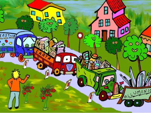 Famiglia EcoBio ep. 2 – Rispetta la natura, pulisci il territorio, mangia la verdura!