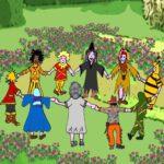 La famiglia Ecobio  ep. 3: Naima al Giardino Fiorito