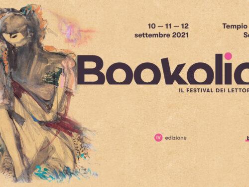 """""""Bookolica – il festival dei lettori creativi"""" 10 -12 /9/21 Tempio Pausania"""