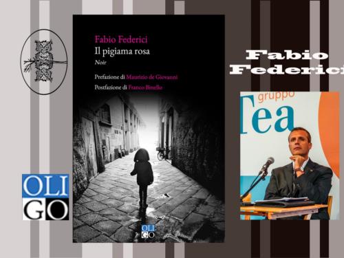 Intervista a Fabio Federici – Il Pigiama Rosa – Oligo editore